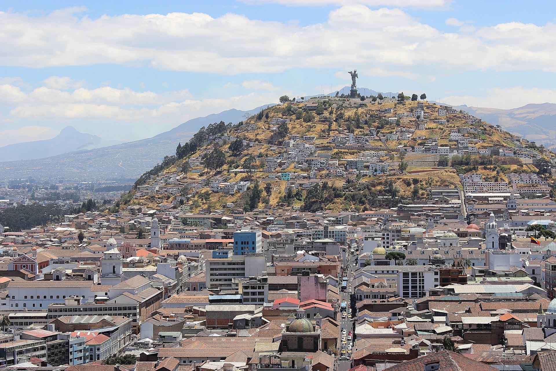 Mirador del Panecillo, Quito.