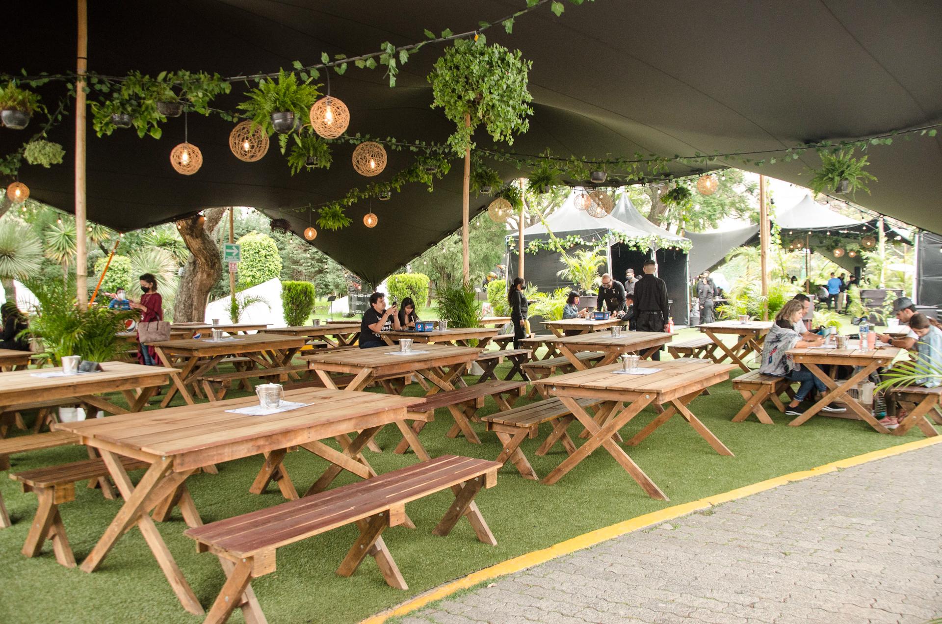 Terraza Gastronómica Citibanamex: un picnic urbano por tiempo limitado