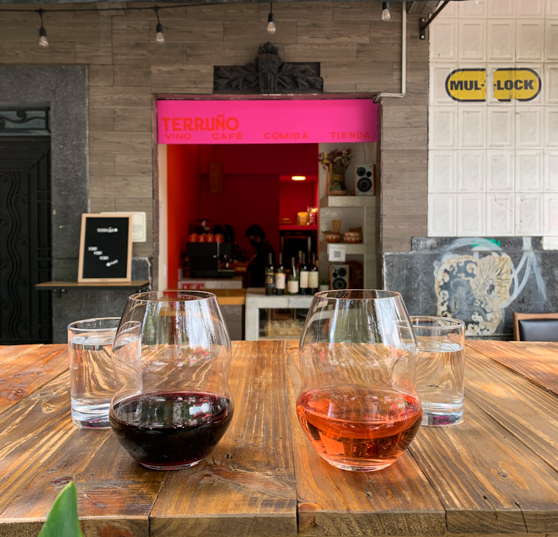 Terruño, wine bar en la colonia Roma