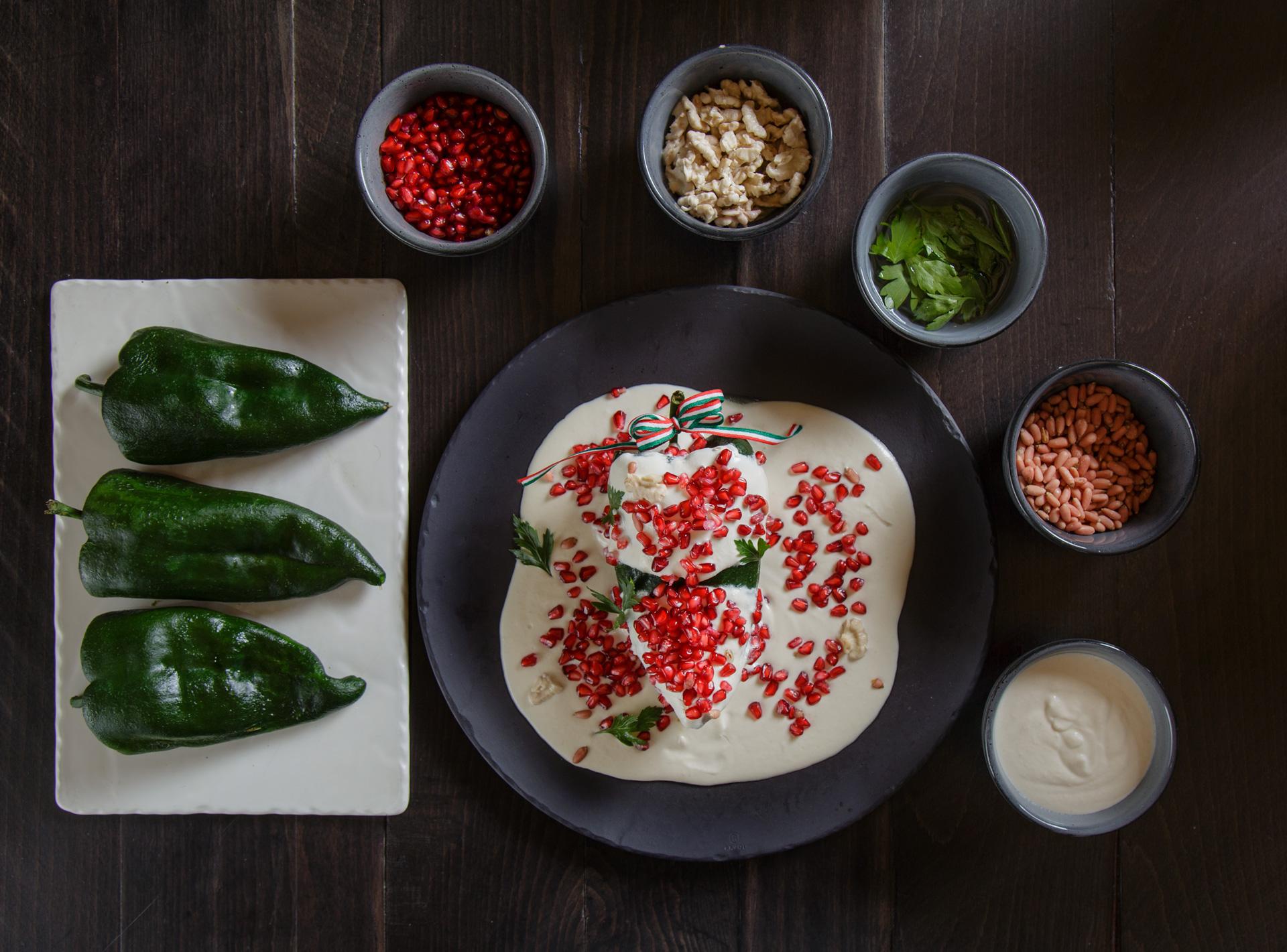 Platillo cocinado por el chef Pepe Salinas