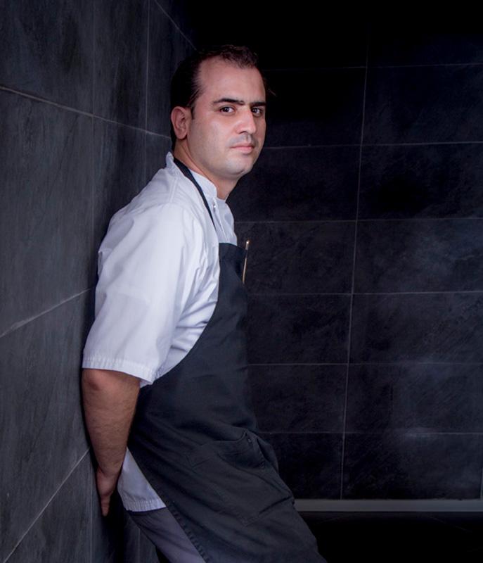 Chef Jonatan Gomez Luna