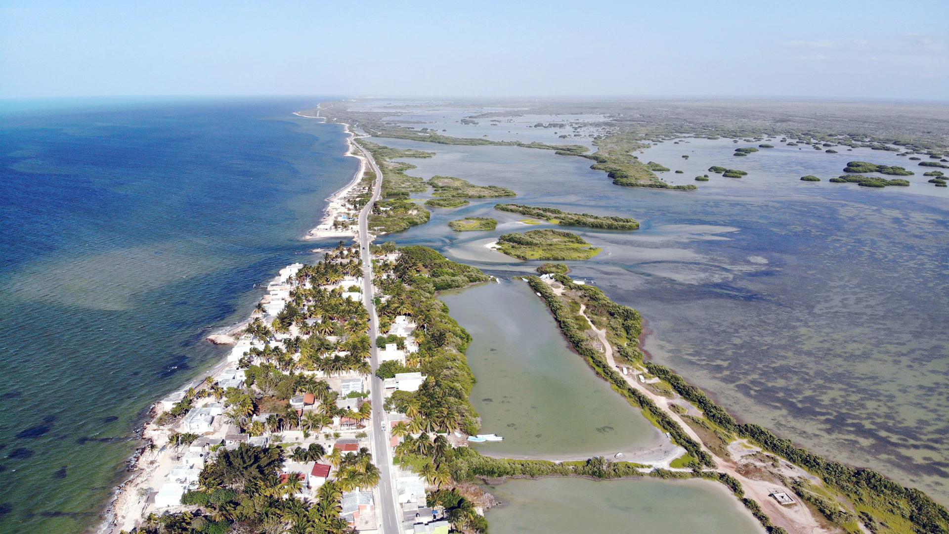 Chabihau, playa secreta de Yuacatán