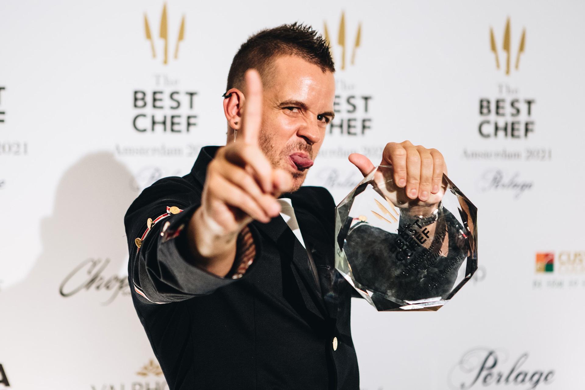 Dabiz Muñoz, ganador de The Best Chef Awards 2021