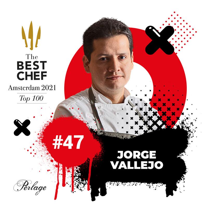 Jorge Vallejo en The Best Chef Awards