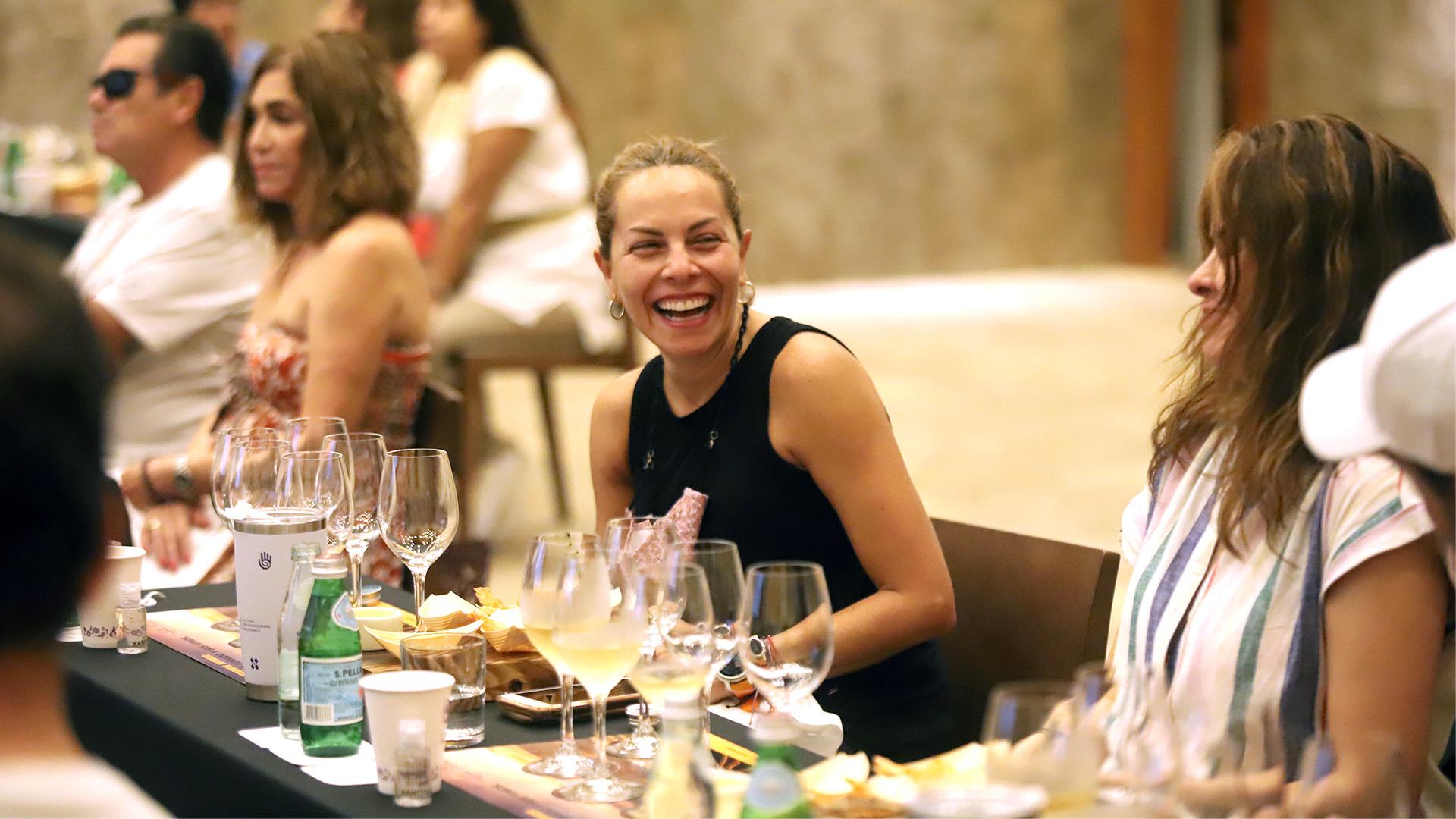 Cata con California Wines dirigida por la sommelier Sandra Fernández