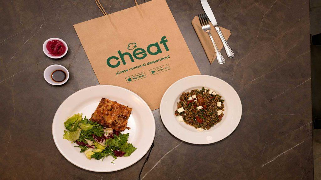 Usa Cheaf app para evitar el desperdicio de alimentos