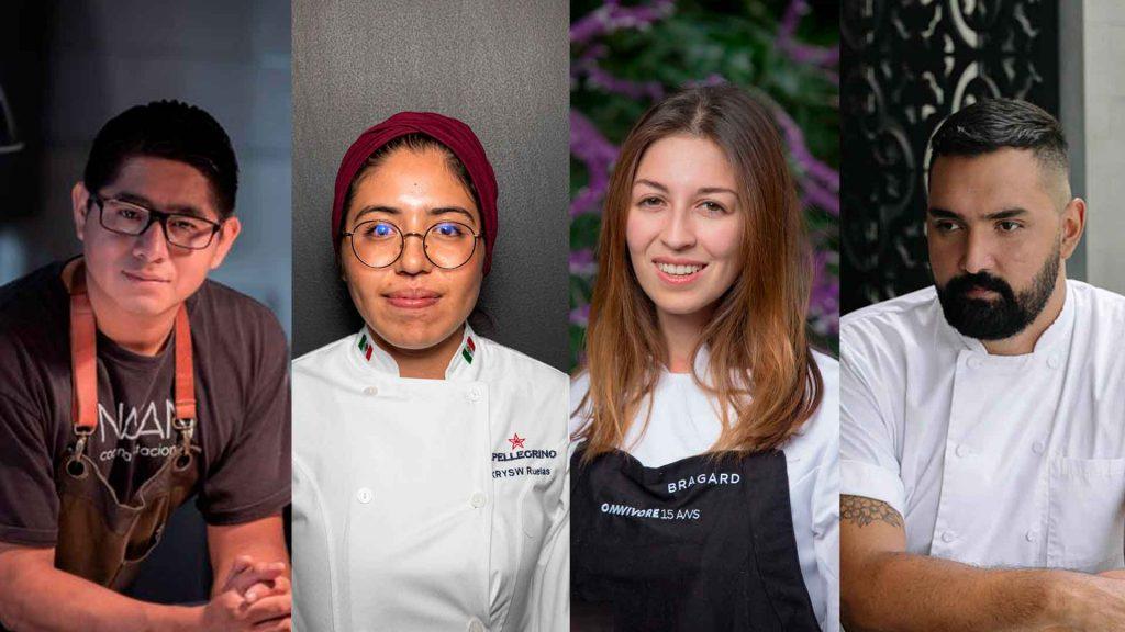 5 jóvenes chefs mexicanos que inspiran a las nuevas generaciones