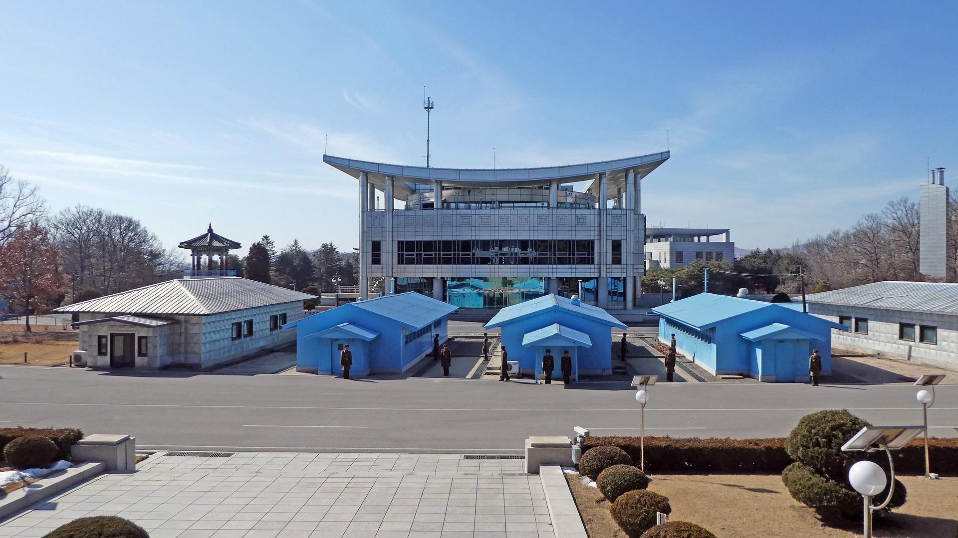 """La vigilancia en la zona desmilitarizada de Corea recuerdo a """"El juego del calamar"""""""