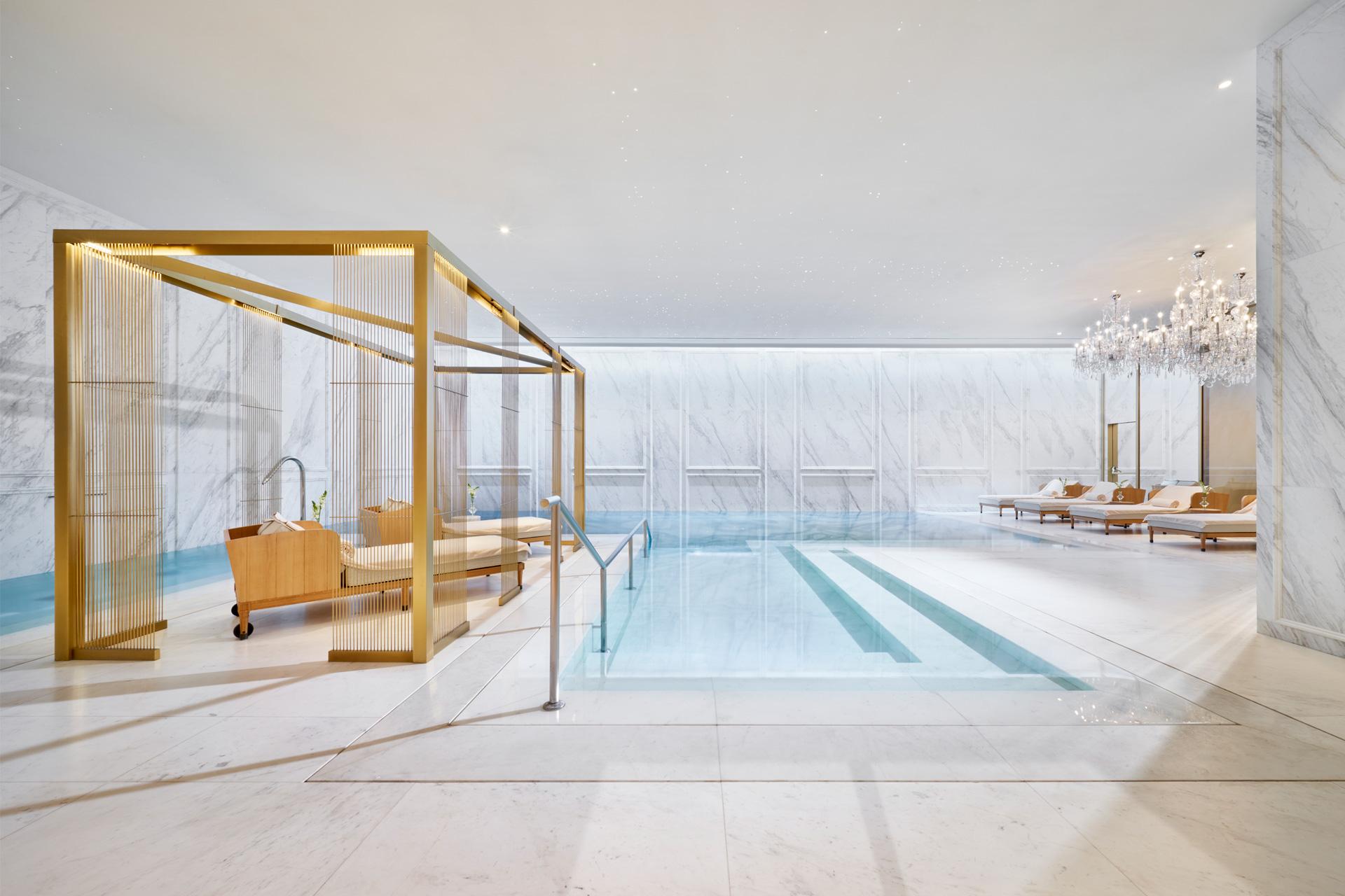 Piscina del Mandarin Oriental Ritz Madrid