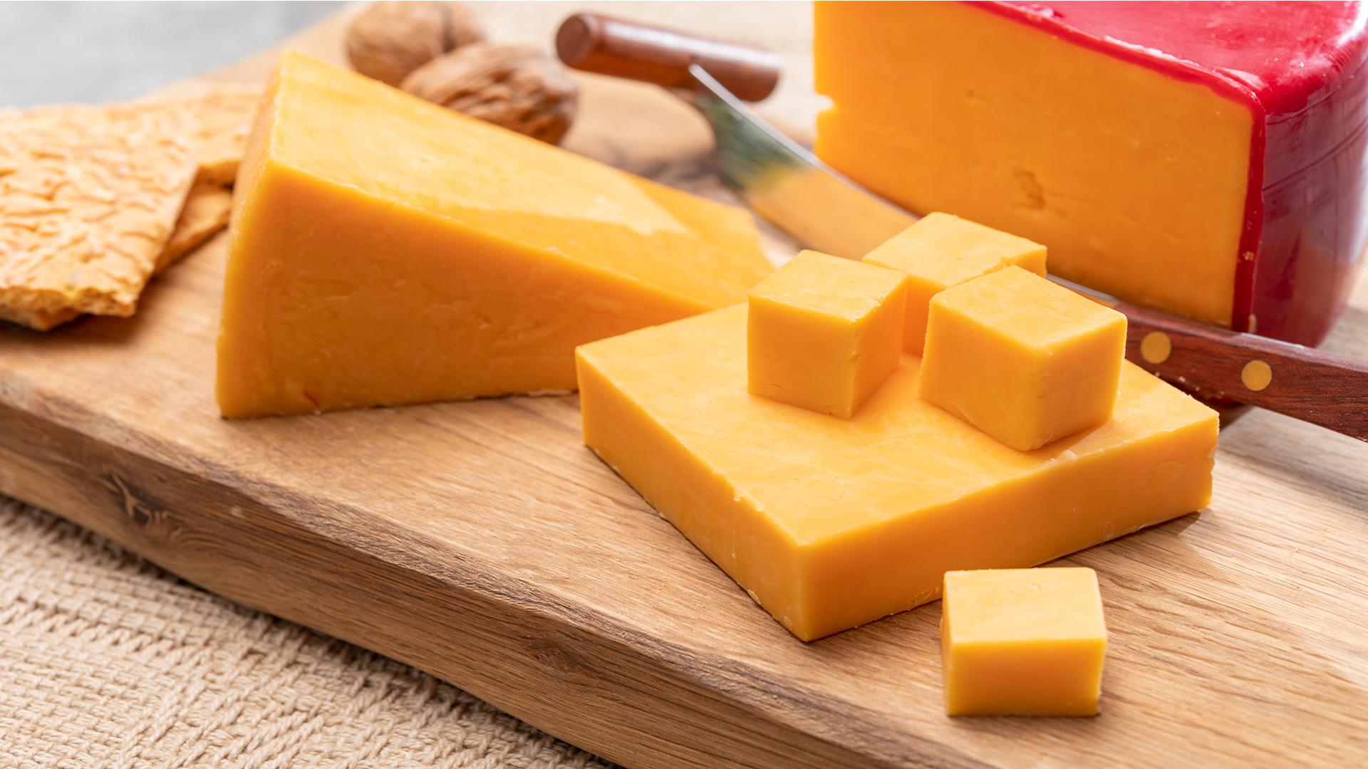 Cheddar, popular entre los quesos de California